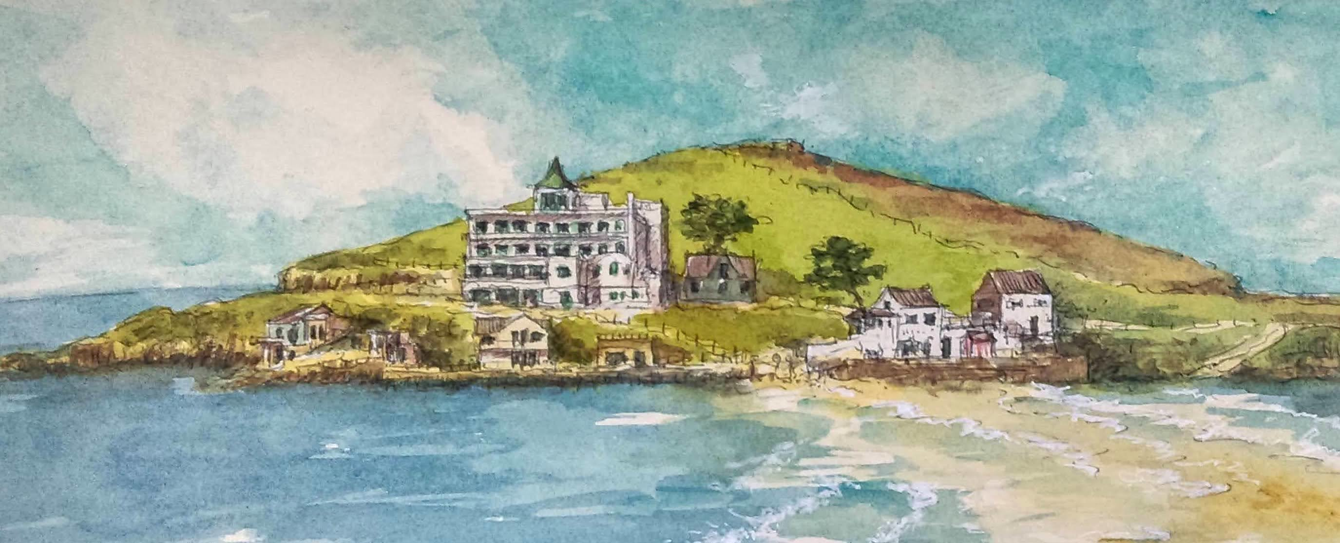 Home, News & Events. Burgh Island