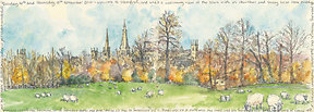 Other Works & Books. Mar 15: Burghley Park looking back to Stamford v small